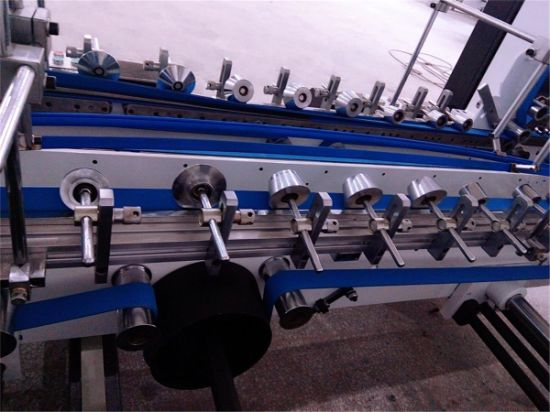 Airline Lunch Box Folding Gluing Machine (GK-SLJ) pictures & photos