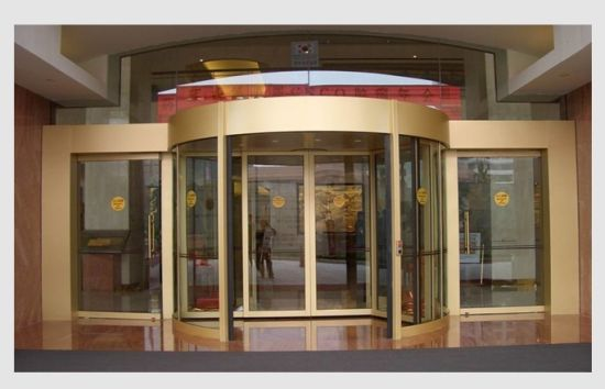 Attrayant Round Automatic Curved Sliding Door, Hotel Auto Sliding Glass Door