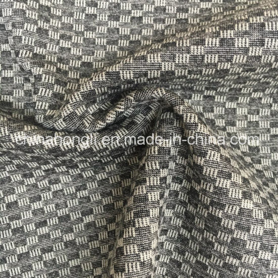 Jacquard N/R/Sp 64/29/7 Knitting Yarn-Dye Fabric for Lady′s Pants pictures & photos