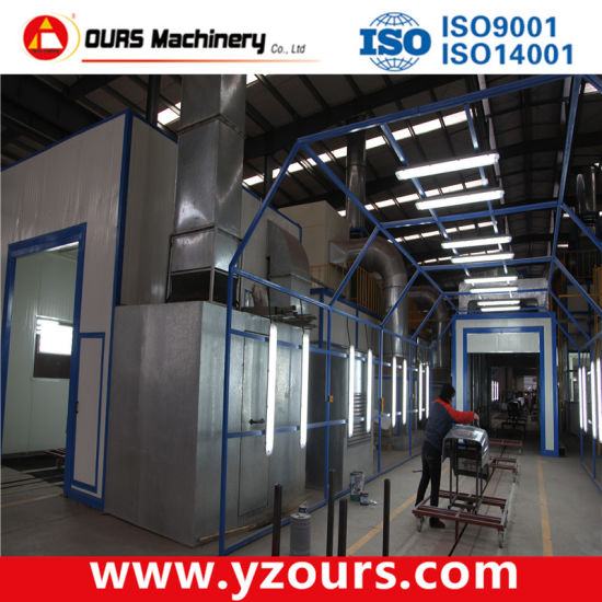 Epoxy Polyester Paint Spraying Line/Painting Equipment pictures & photos