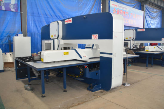 CNC Turret Punching Machine/Automatic Hole Punching Machine/CNC Punch Price pictures & photos