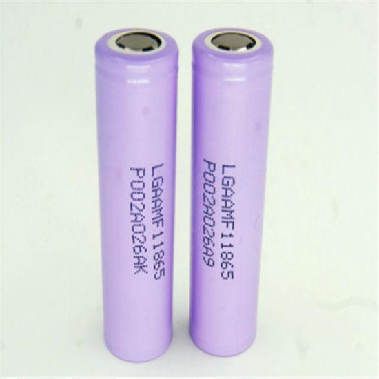 4 X LG icr18650 mf1 3,7v 2150mah Lithium industry Cell Battery