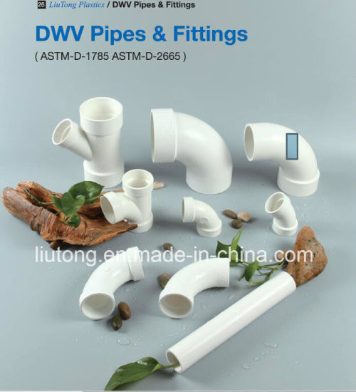 UPVC Reducer Socket ASTM D2665 Standard for Dwv Drain Water with NSF Certifictae pictures & photos