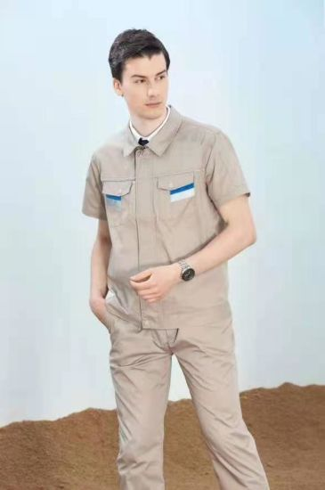 Work Clothing Sets Work Wear Suits Summer Short Sleeve Workers Uniforms