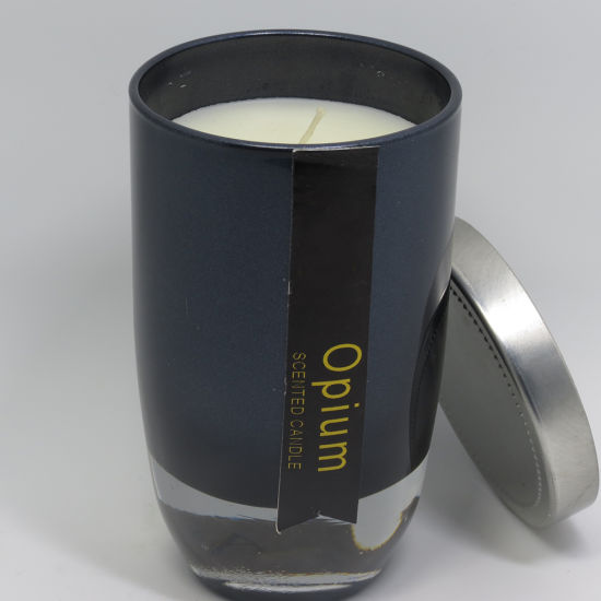 Wholedale Black Art Fragrance Scented Glass Jar Candles