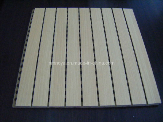 Acoustic Sound Absorption Wooden Panel for Wall and Ceiling Decorative