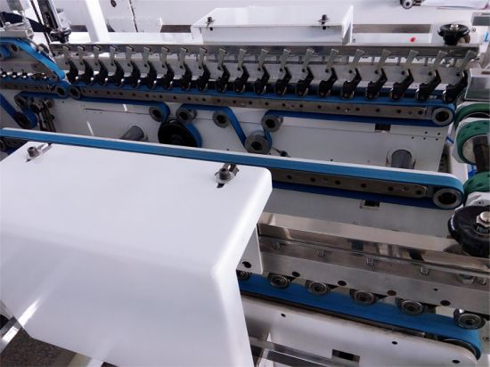 Folding Gluing Machine for Making Cake Box (GK-780SLJ) pictures & photos