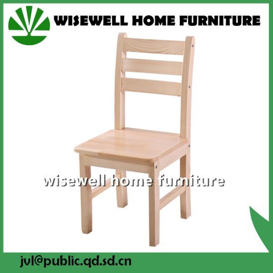 Pine Wood Dining Chair with Armrest (W-C-1713) pictures & photos