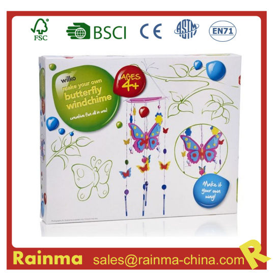 Butterfly Windchime DIY Toy for Kids