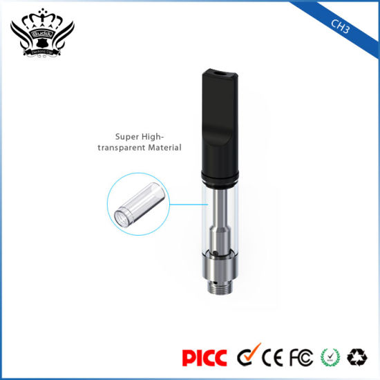 Welcome OEM CH3 0.5ml Ceramic Coil Disposable E Cigarette Atomizer pictures & photos