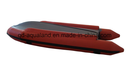 Aqualand 17feet 5m Rescue Rubber Motor T/Semi-Rigid Inflatable Dinghy (500) pictures & photos