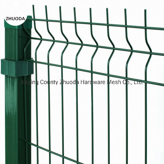 Amazon 2X2.5m China Supply PVC Coated Welded Wire Fence pictures & photos