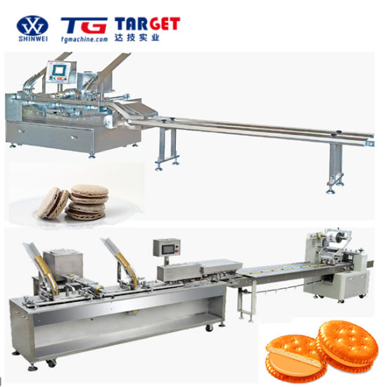 Biscuit Sandwiching Machine with Ce Certification pictures & photos