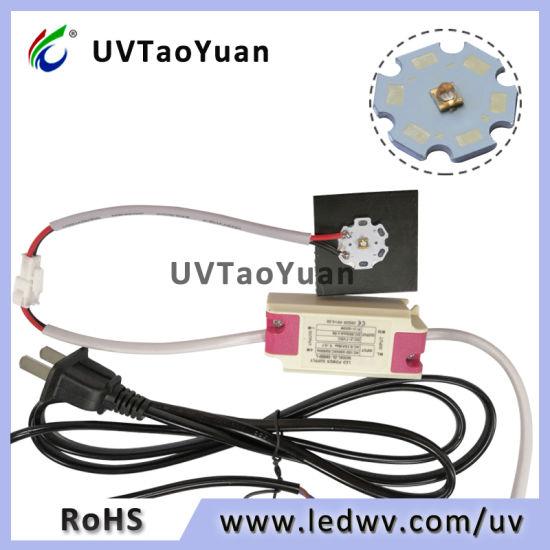 365nm/385nm/395nm/405nm UV LED Light 20mm PCB