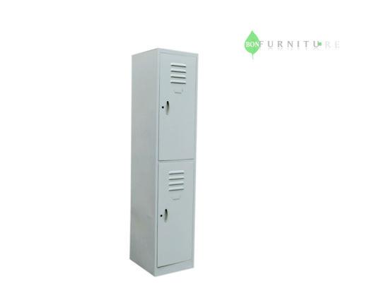 China Metal Wardrobedouble Door Metal Storage Cabinet Dormitory
