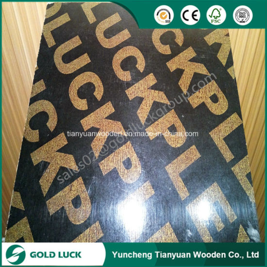 First Grade 18mm Film Faced Plywood for Building Material/Shuttering Plywood pictures & photos