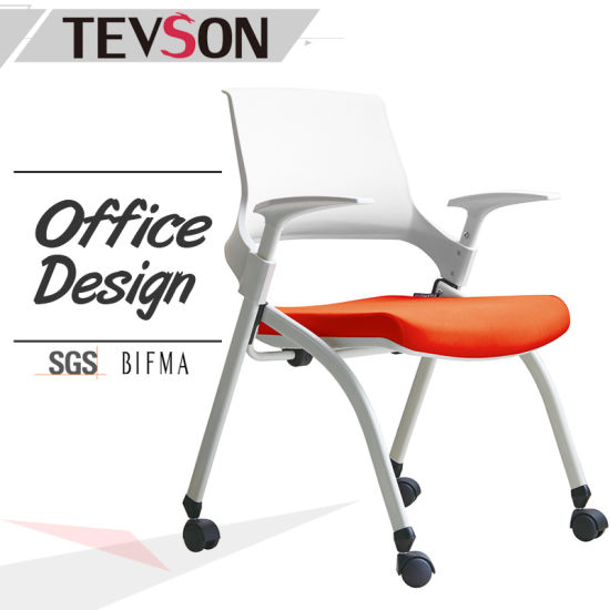 china 2017 modern conference room office folding chair china