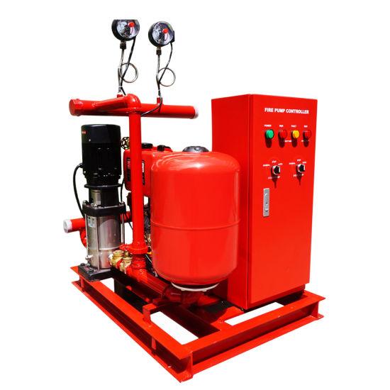 China Diesel Engine Vertical Turbine Fire Fighting Pump