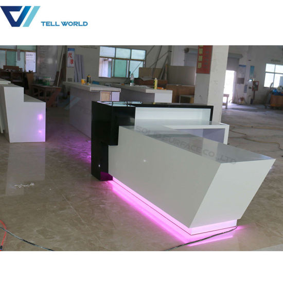 Beauty Salon LED Custom Made SPA Reception Desks pictures & photos