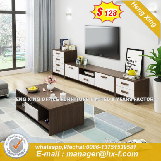 Irregular Decorative Pine Wood TV Stand (HX-8ND9280) pictures & photos