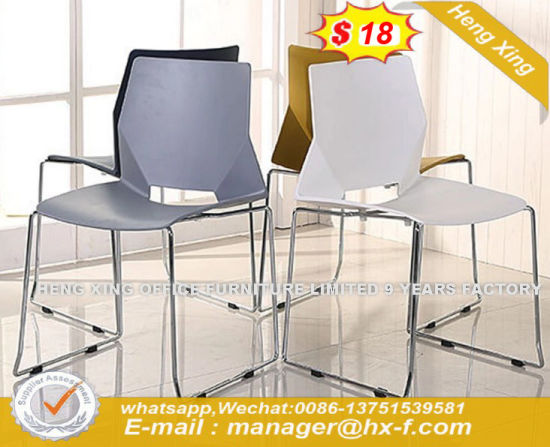 Scandinavia Style Modern Stainless Solid Wood Material Dining Table (HX-8DN066) pictures & photos
