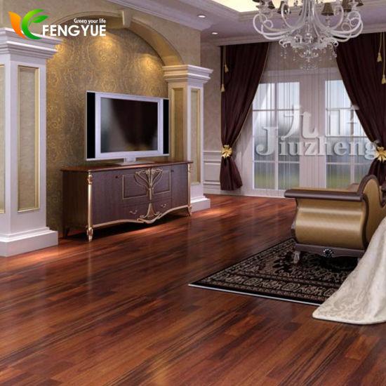 Best Selling Commercial Flooring Wood Pattern Dark Color PVC Tile