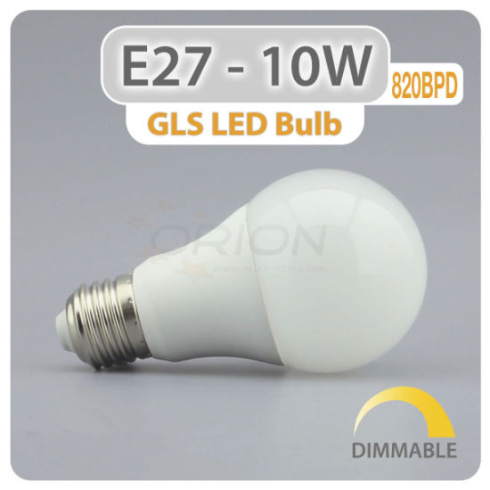 Ce Approved Globe A60 9W E27 B22 2700k 6500k LED Bulb pictures & photos