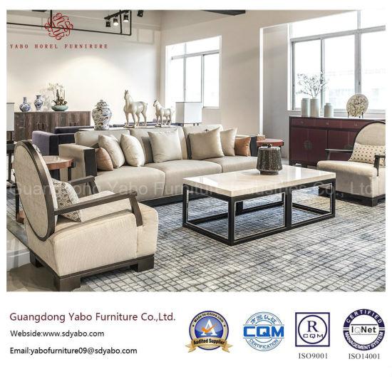 Custom Modern Hotel Furniture For Lobby Sofa Set Hl X 1