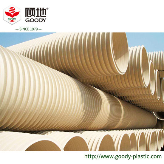[Hot Item] PVC Double-Wall Corrugated Pipeline Bellow Pipe for Drainage,  What Is a Pipe Bellow