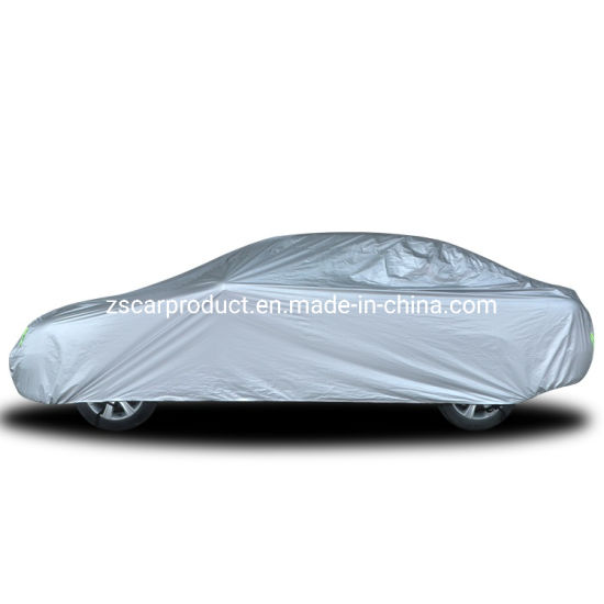 Outdoor Car Accessories Waterproof UV-Proof 190t Polyester Car Cover Manufacturer