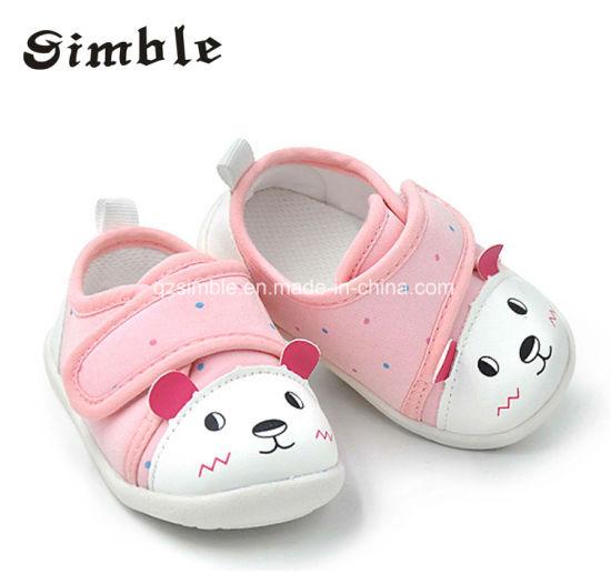 Latest Fashion Cute Wholesale Soft Canvas Baby Shoes
