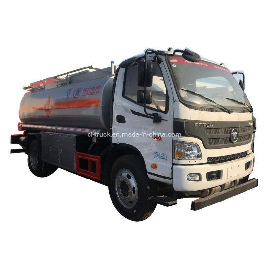 Best Quality Foton Aumark Fuel Tank Truck 6000liters 7000liters