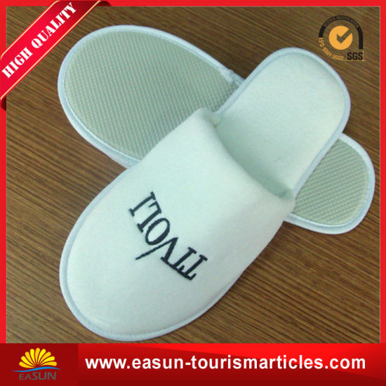 Washable Terry Towel Airline Slipper with Custom Logo (ES3052206AMA)