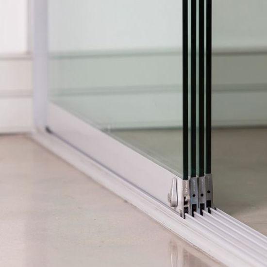 China Frameless Sliding Glass Door Tempered Glass 10mm 12mm Price