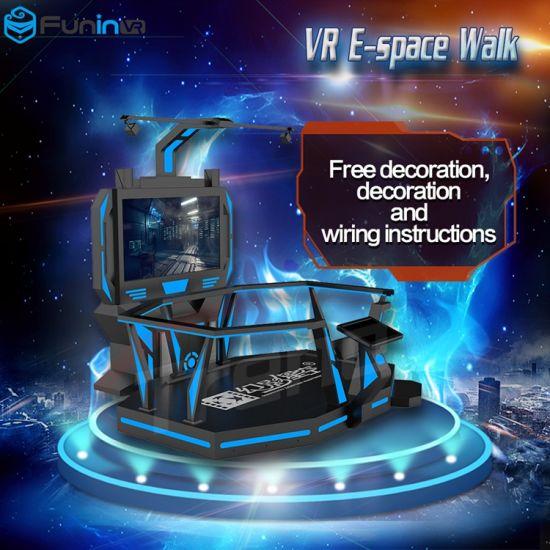 New Design Entertainment Vr Game E-Space Walker Virtual Reality Simulator