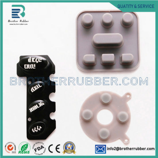 China Manufactory Supply Remote Control Conductive Silicone Rubber Keypad