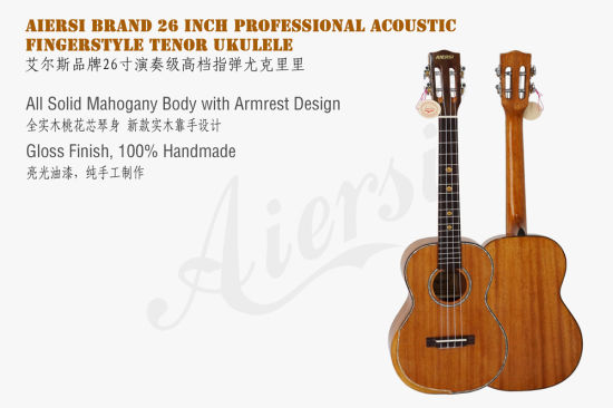 Aiersi Tenor Ukulele Musical Instruments Wholesale Guitars pictures & photos