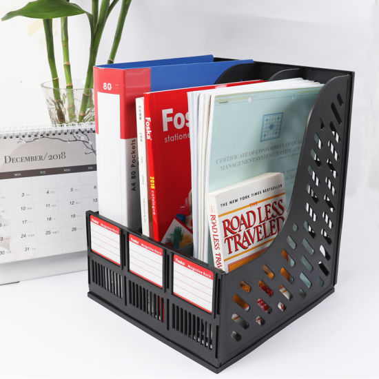 Good Quality Plastic Office File Tray pictures & photos