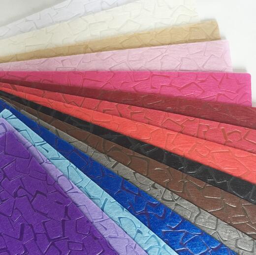 Packaging Use Flower Embossed PP Spunbond Colorful 100% Polypropylene