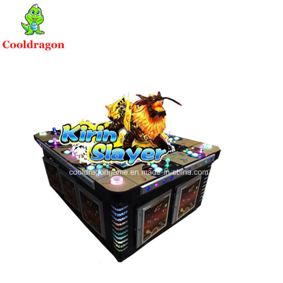 China English Version Arcade Fish Hunter Game Machine Kirin Slayer