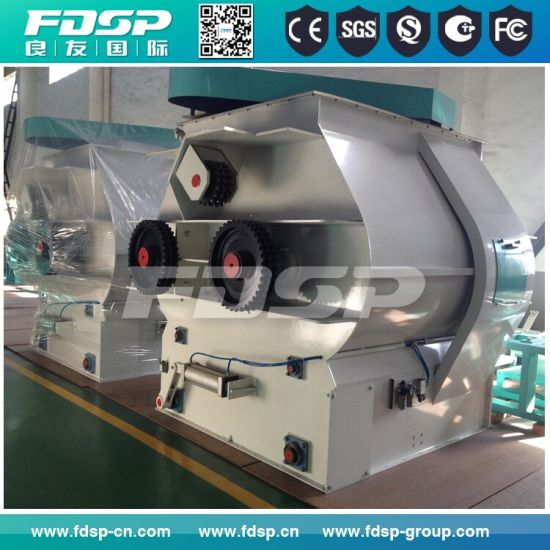 China Making Stainless Steel Paddle Mixer for Pellet Plant pictures & photos