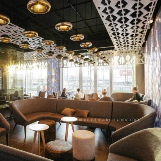 (SD3022) Modern Wooden Hotel Restaurant Lounge Bar Furniture Set