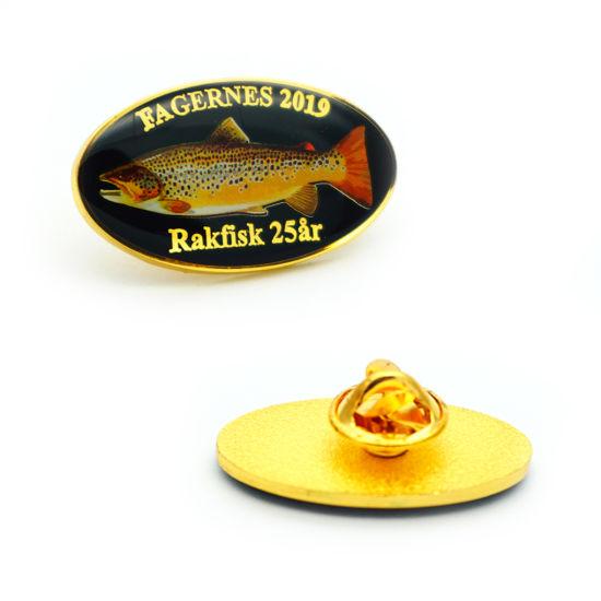 Hot Sale Custom Button Badge Hard Emblem Soft Enamel Metal Lapel Pins
