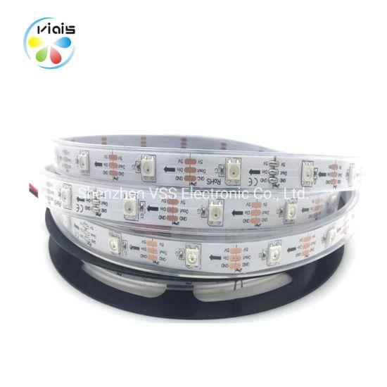 Ws2812b LED Strip 5V Addressable Black FPCB 30pixel