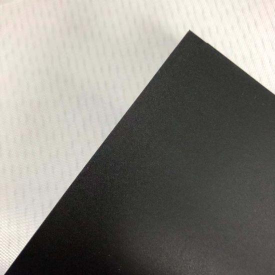 PU Black Conveyor Belt Industry Belt Acid and Alkali Resistant