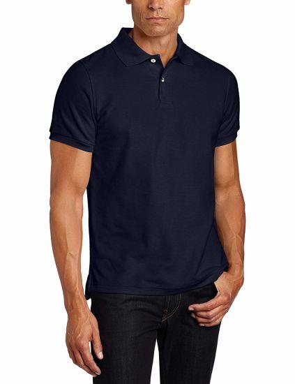 Men Merino Wool Short Sleeve Polo T Shirt
