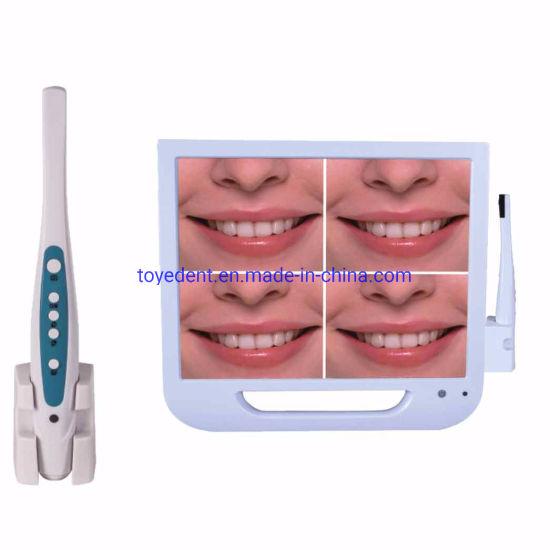 High Resolution Dental Camera Intra Oral VGA/USB with 17 Inch Monitor