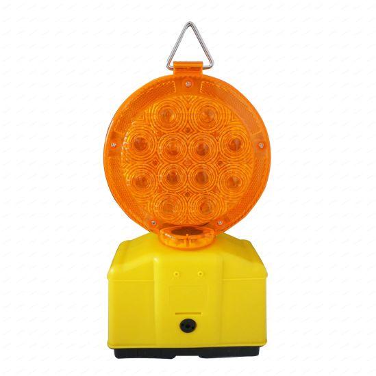 Waterproof Amber Warning LED Emergency Flashing Lamps Road Safety Strobe Traffic Signal Light