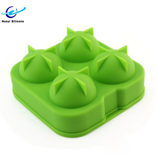 Spherical Shape Silicone Ice Cube Tray Mold