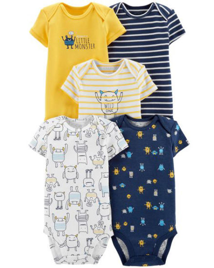 Organic Cotton Baby Boy Bodysuit pictures & photos